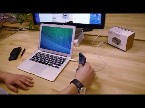 Youtube video about the Massive Dock for iPhone 5 by hardwrk