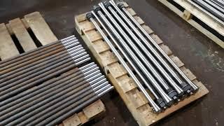 М24х1320 тип 1.1 сталь 35 Фундаментный анкерный болт изогнутый ГОСТ 24379.1-2012 от компании АК Болт и Гайка - видео