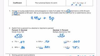 Math 1H Lesson 2.1/2.2