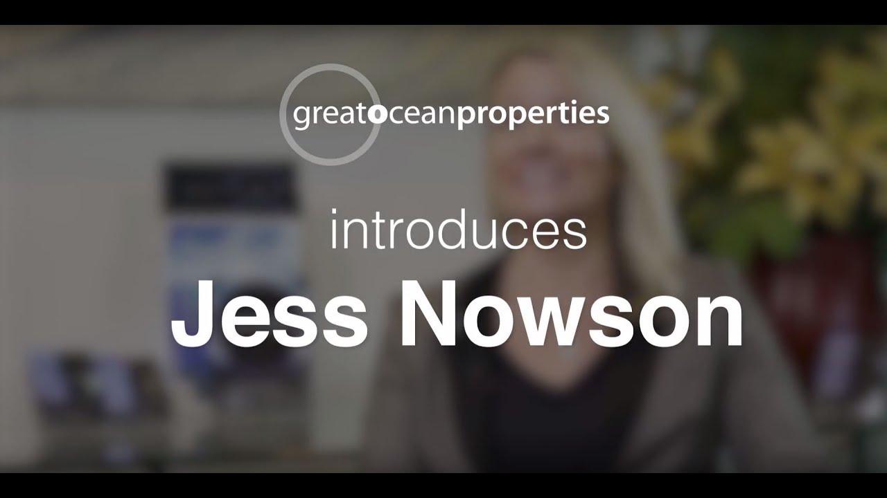 Meet Jess Nowson