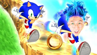 Can We Escape This SONIC OBBY?! (INSANE ROBLOX SONIC THE HEDGEHOG OBBY!)