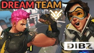 Overwatch: THE DREAM TEAM! SEASON 4 PLACEMENTS + SHORT ANALYSIS (PART 4)! Games 7 + 8