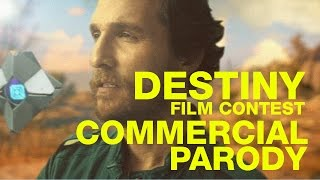 Sweet Rides: Destiny Commercial Parodies Ft. Matthew McConaughey