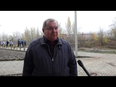 День древонасаждения в Красносулинском районе