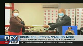 The Kisumu Oil Jetty is ready for use but it will only become