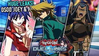DSOD JOEY UNLOCK! Greiger, Lazar, & OTHER 5D'S CHARACTERS LEAKED! BLAIR! [Yu-Gi-Oh! Duel Links]