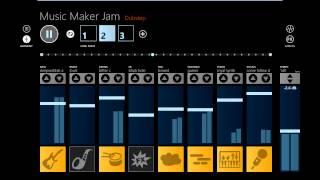 Windows 8 App Music Maker Jam [Dubstep]