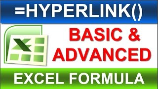 =Hyperlink() Excel Formula -must watch - New and Advanced way of Tutorial