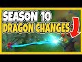 SEASON 10 DRAGON CHANGES ARE LITERALLY BROKEN NEW PASSIVES NEW ELDER AND MORE League of Legends