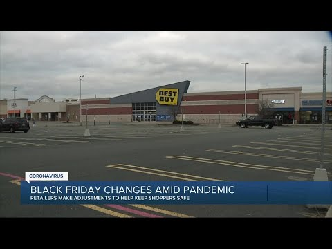 Black Friday changes amid pandemic