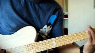 splender - monotone guitar cover
