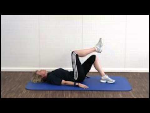Übung für seitliche Bauchmuskeln