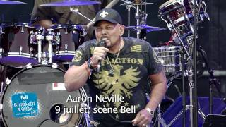 Aaron Neville - It's All Right - Festival d'été de Québec 2011