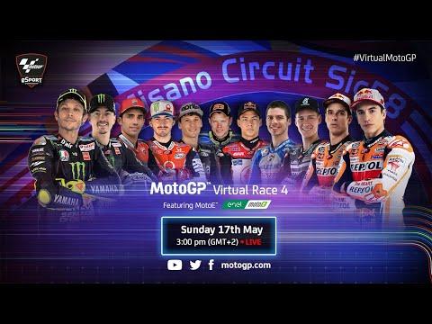 Esports MotoGPバーチャルレース 第4戦(ミサノ)レースフル配信動画