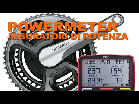CICLISMO: Misuratori di Potenza | Powermeter