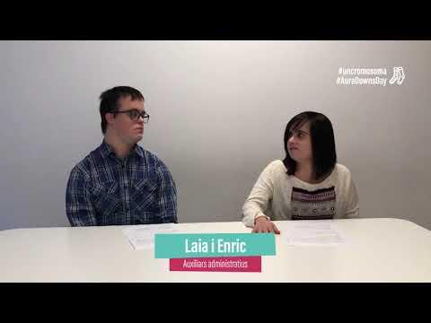 Ver vídeoNomés ens diferencia #uncromosoma de més. Laia i Enric