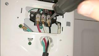 Install 4 Wire Plug on Samsung Dryer Model#DV45H7000EW/A2