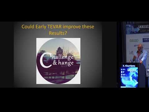 Κλωνάρης Χρήστος Πότε έχει ένδειξη η TEVAR στον αορτικό διαχωρισμό τύπου Β