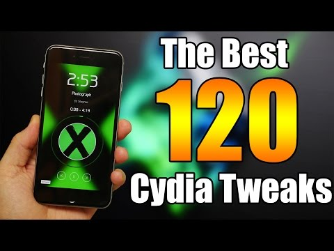 The best 120 cydia tweaks for ios 8.4 and ios 8.3