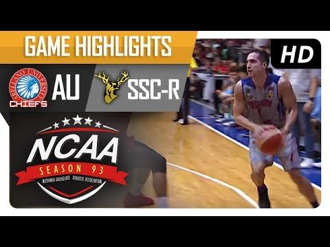 AU vs. SSC-R | NCAA 93 | MB Game Highlights | July 13, 2017