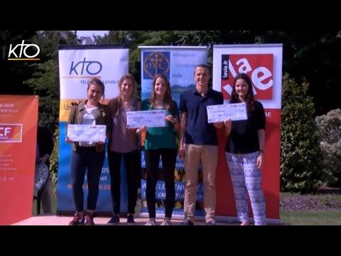 Les lauréats 2016 de la Bourse de l'Aventure Chrétienne