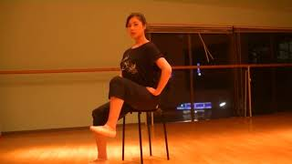 花咲先生のバレエレッスン~腸腰筋トレーニング~足を90度以上上げるためにのサムネイル画像