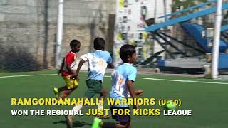 Just For Kicks League - Supported by The Akshaya Patra Foundation