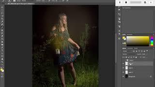 Learning to add a lantern glow
