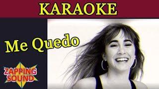 Aitana, Lola Indigo   Me Quedo Karaoke