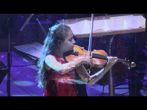מופע מוזיקלי מדהים של מאשה מרשון, כנרית ישראלית בת 12