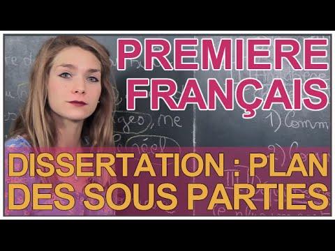 Corrig dissertation francais bac 2009