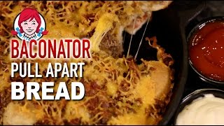 Wendy's Baconator Pull Apart Bread