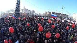 Встреча с Алексеем Навальным в Новокузнецке (Полная версия)