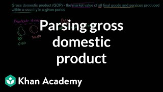 Parsing Gross Domestic Product