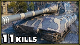 Jagdpanzer E-100 - 11 Kills - World of Tanks Gameplay