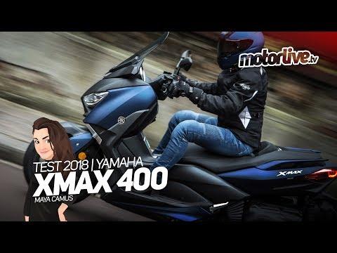 YAMAHA XMAX 400 | TEST 2018