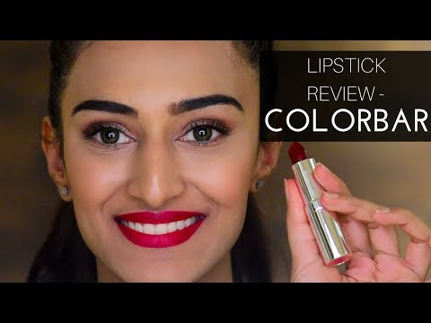 Colorbar lipstick review