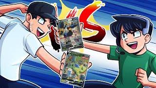 My first ever Pokemon pack battle against NoahJ456...