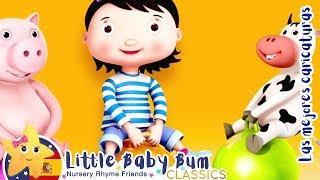 Vamos A Saltar y Otros | Canciones y Juegos Para Niños | Little Baby Bum