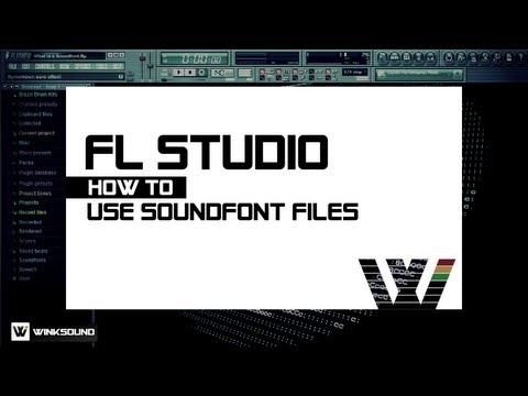 FL Studio: How To Use SoundFonts   WinkSound
