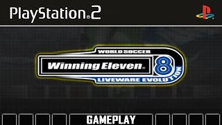 World Soccer Winning Eleven 8 Liveware Evolution [PS2] Gameplay