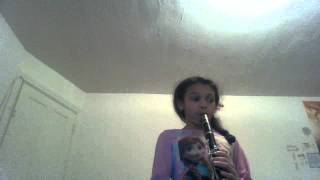 CLARINET COVER:BREAK FREE (sorry my friend made me laugh)