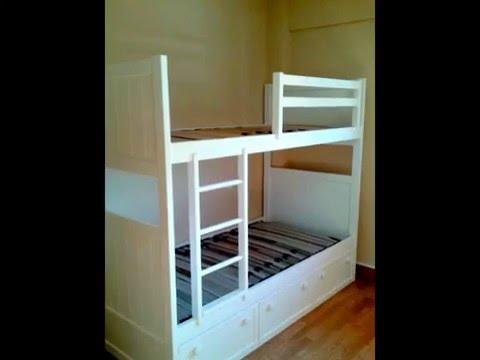Litera Con 3 Camas Para Dormitorios Infantiles
