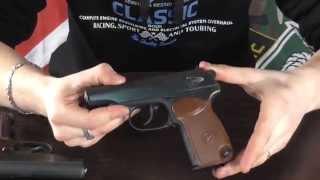 Пистолет под патрон Флобера ПМФ-1 от компании CO2 - магазин оружия без разрешения - видео 1