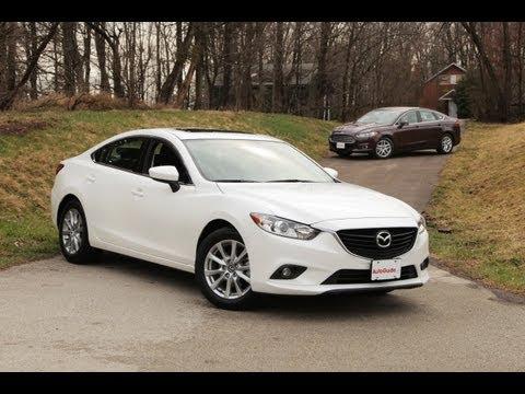 2013 Ford Fusion vs 2014 Mazda6