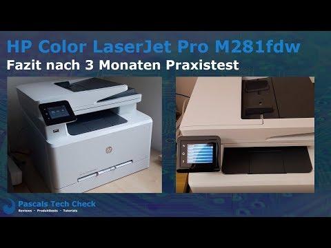 HP Color LaserJet Pro M281fdw Farblaserdrucker | Fazit nach 3 Monaten Praxistest und Dauereinsatz