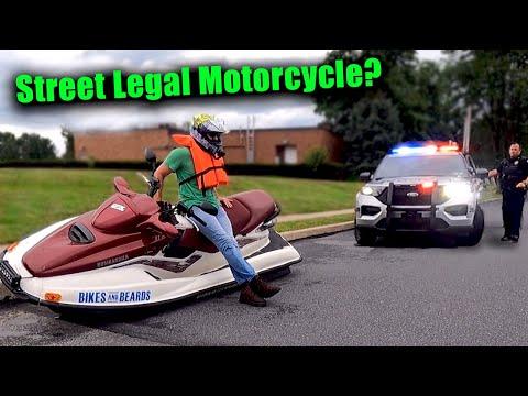 Building a Jet Ski Motorcycle