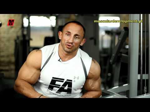 Rower mięśni, które huśtawki