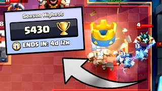 Clash Royale - 5400 TROPHIES! New Personal Best
