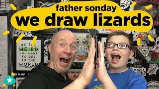 Father & Sonday - We Draw Lizards